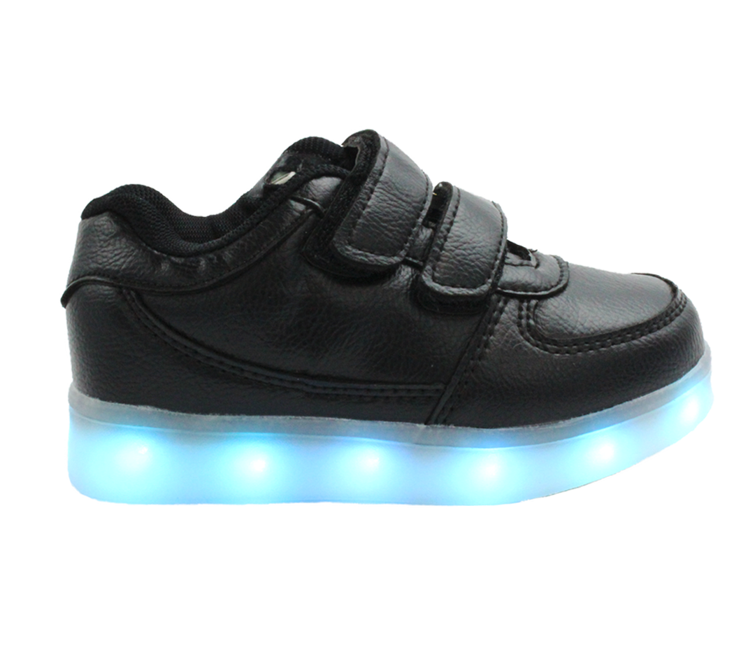 LED Shoes | Kids Pink Wings LED Sneakers | Unisex Dance Shoes
