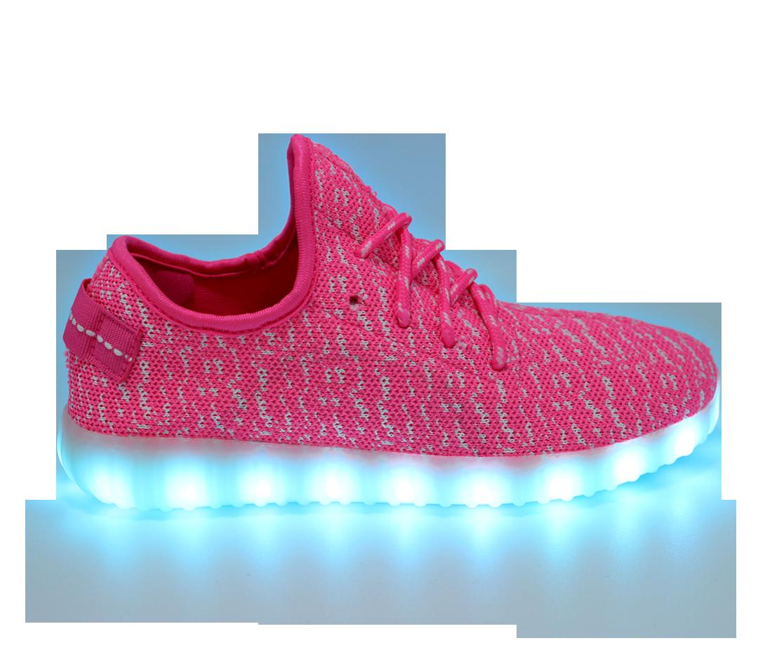 Flashlight Girls High Top Shoe