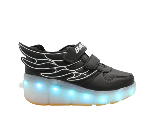 kids-black-ledshoes-rollingwheel-wing-hightop-1