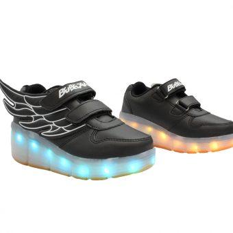 kids-black-ledshoes-rollingwheel-wing-hightop-2